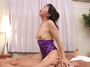Incredible pornstar Hiroko Akaishi on touching exotic asian, dildos/toys sex video